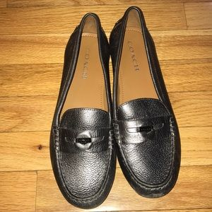 COACH penny loafers size 9 1/2